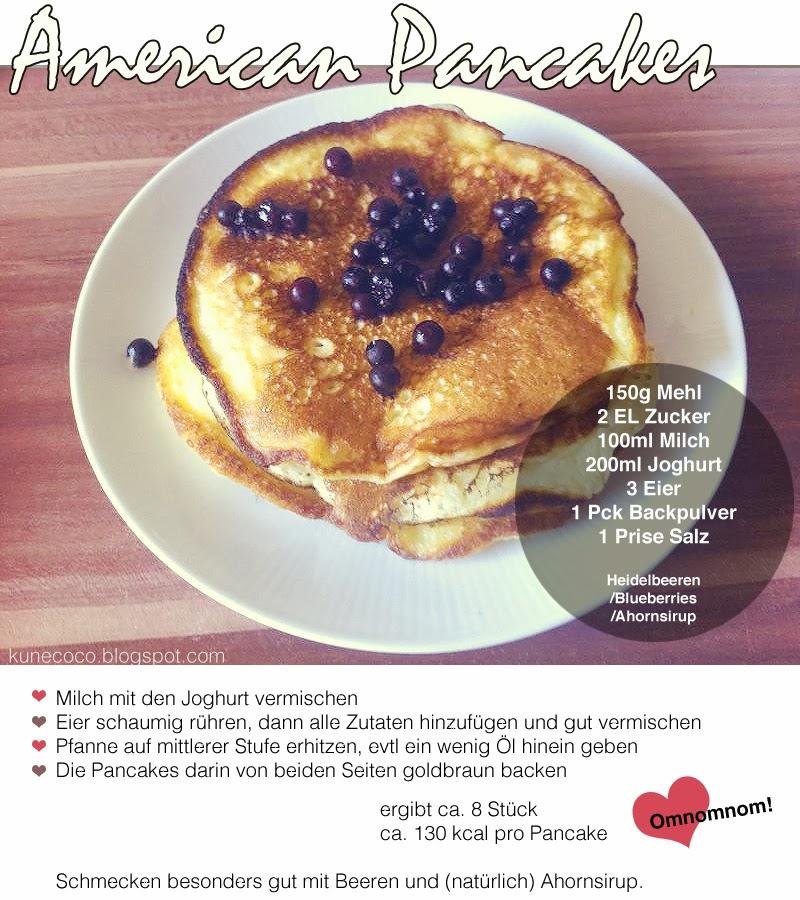 Rezept #1 ~ American Pancakes
