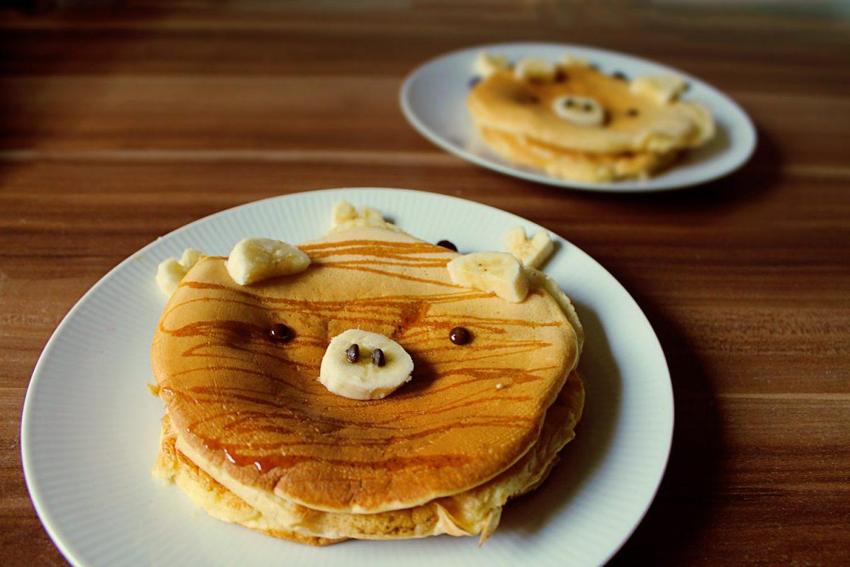 Pigcakes zum Frühstück!