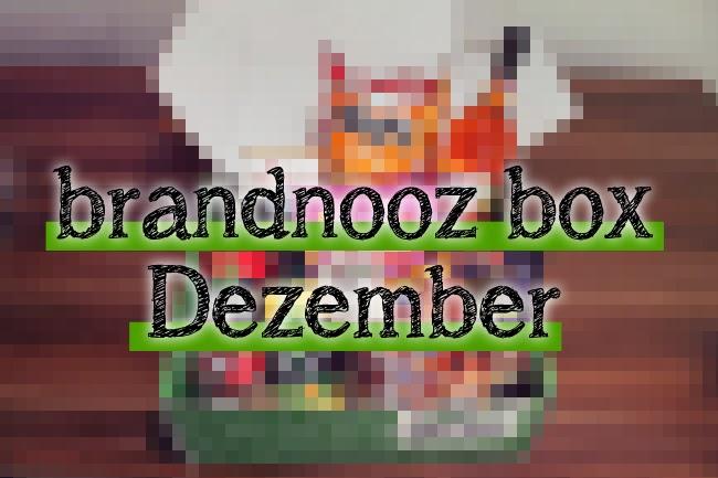 Vorsicht, Spoiler: brandnooz Box Dezember