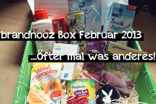Brandnooz Box Februar 2013