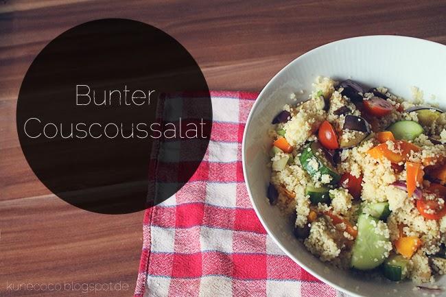 Rezept // Couscous-Salat