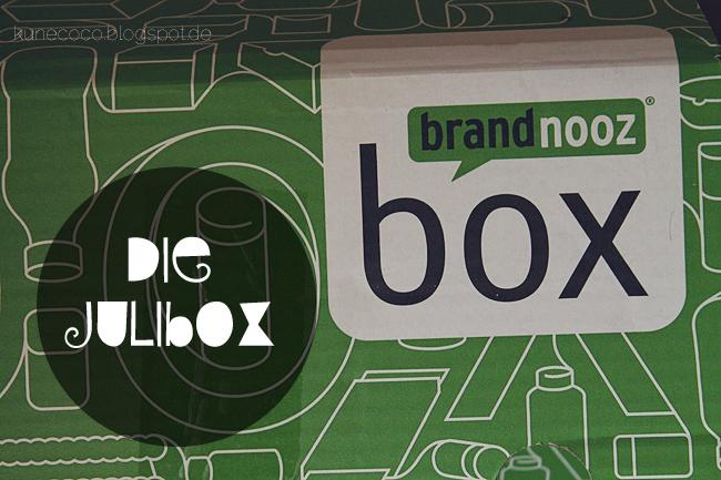 brandnooz Box Juli 2013