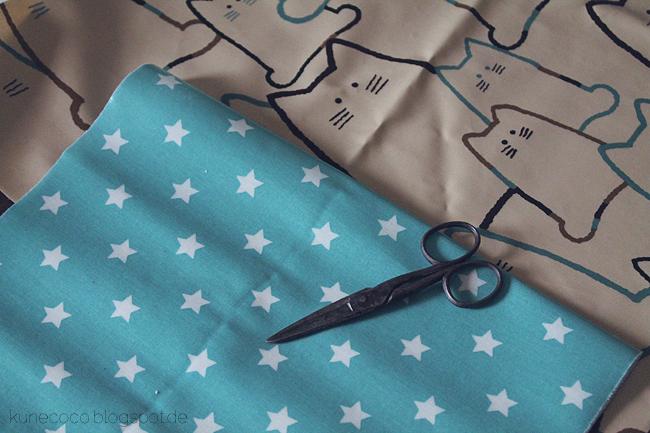 KuneCoco • DIY • Utensilo aus Wachstuch • Material