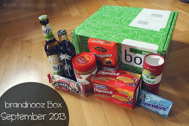 brandnooz Box September 2013