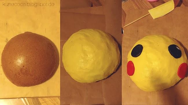 KuneCoco • Rezept • Pikachu-Kuchen • Pokémon • Tutorial