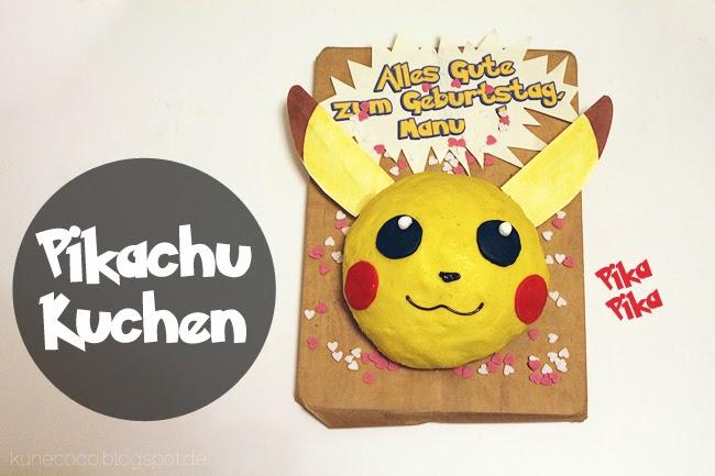 Rezept // Pikachu Kuchen