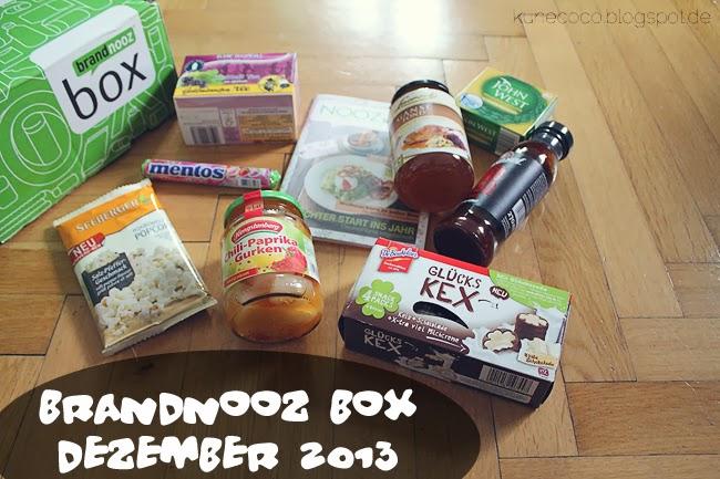 brandnooz Box Dezember 2013