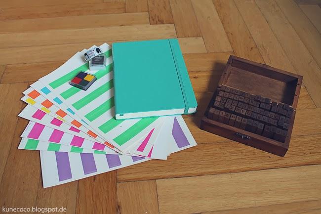 KuneCoco • DIY • Kalender selbst gestalten • Material