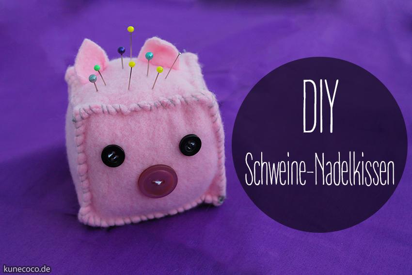 DIY ~ Schweine-Nadelkissen
