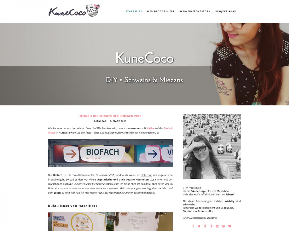 KuneCoco im neuen Gewand