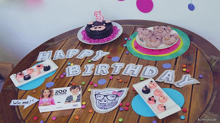 KuneCoco Happy Birthday Sweet Table