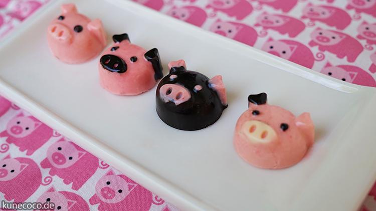 KuneCoco: Süße Schweinerei – Pralinen in Schweineform