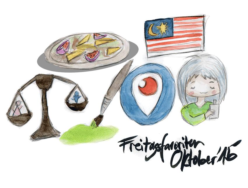 Freitagsfavoriten Oktober 2015