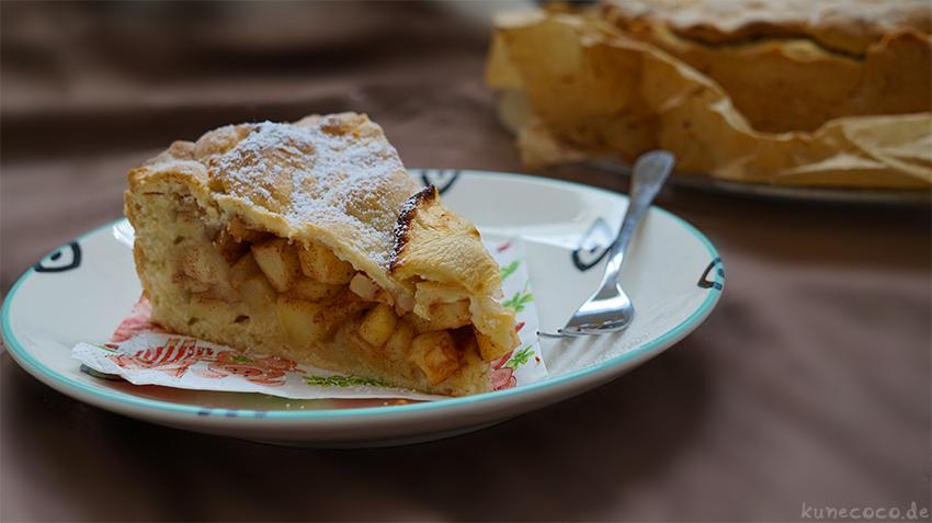 KuneCoco • Gedeckter Apfelkuchen