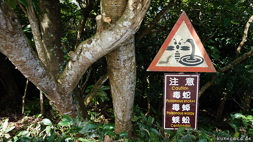 KuneCoco • Kenting Nationalpark, Taiwan • Warning