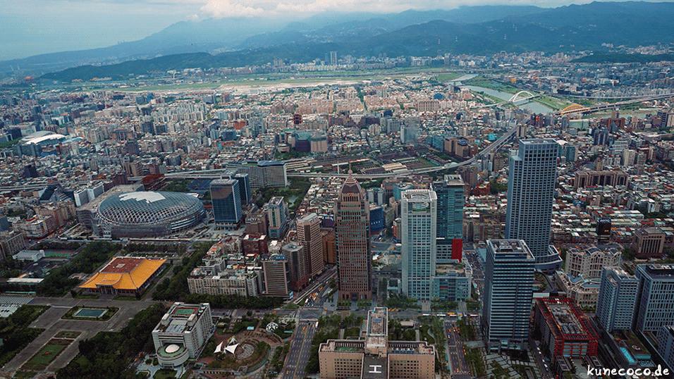 KuneCoco • Aussicht vom Taipei 101