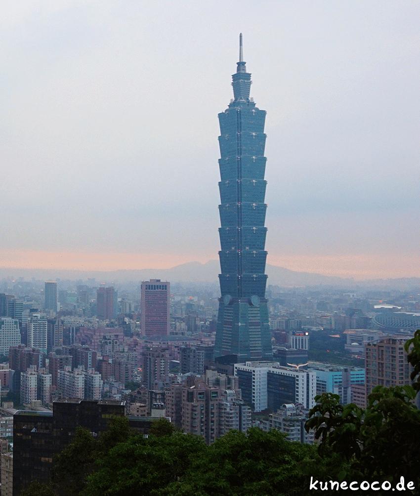 Über den Dächern von Taipei ~ Taipei 101