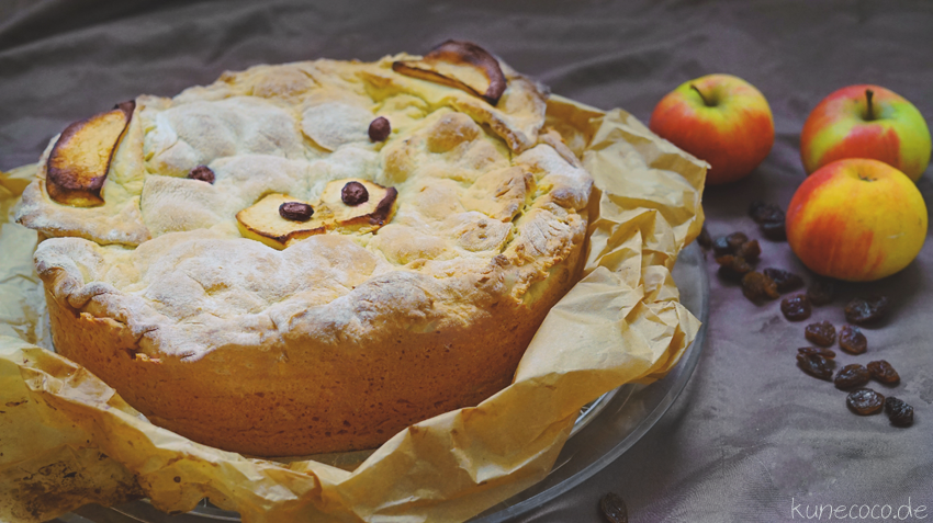 Rezept ~ Gedeckter Apfelkuchen