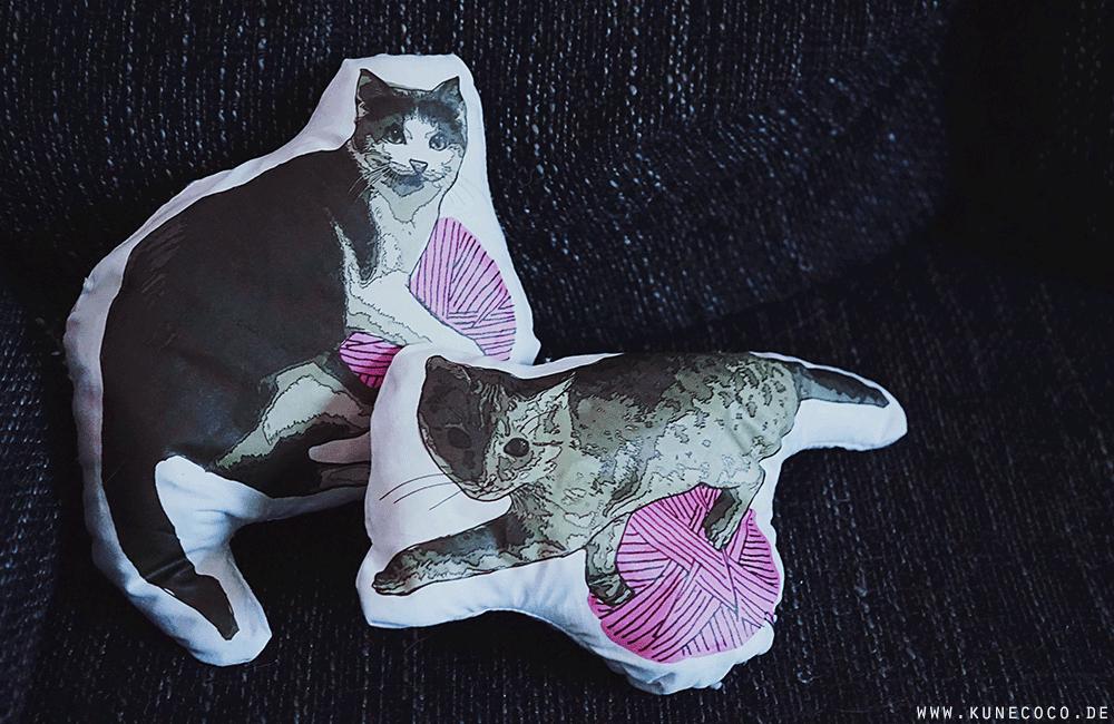 DIY ~ Katzen-Formkissen