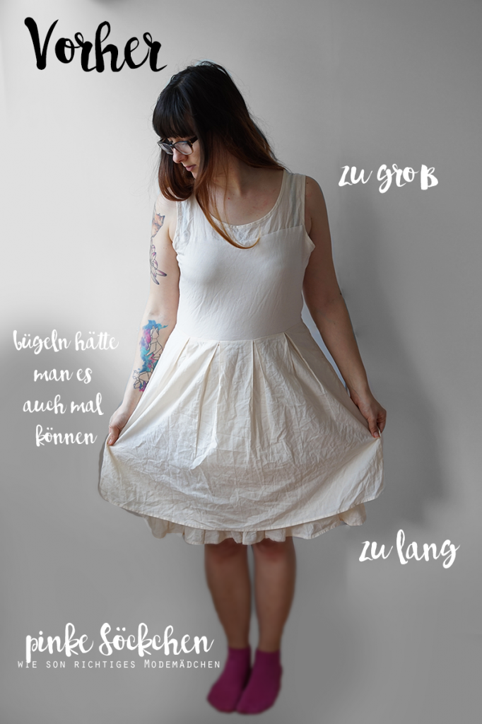 KuneCoco • DIY your closet #1 • Kleid Upcycling