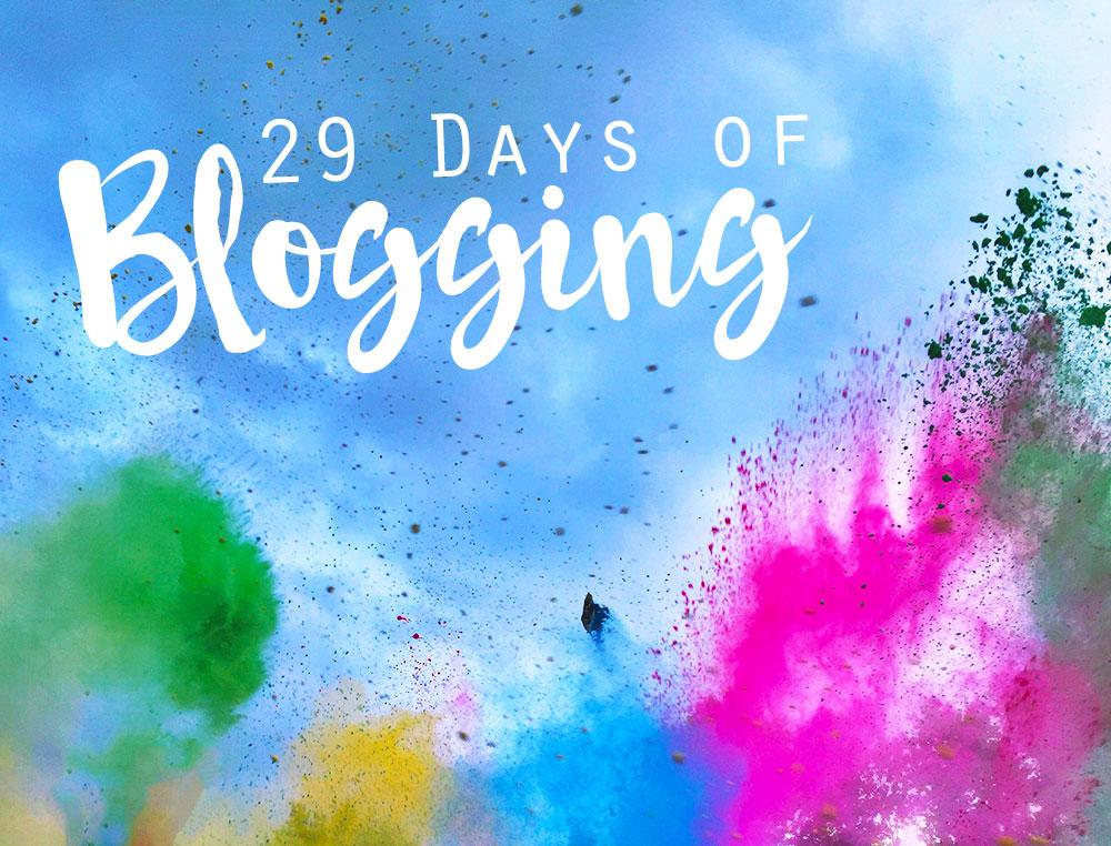 KuneCoco • #29DAYSOFBLOGGING