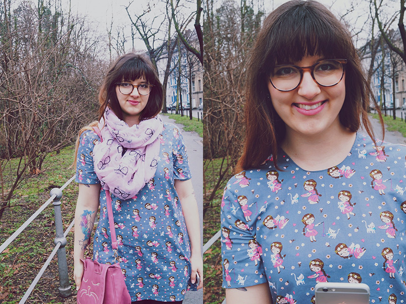 KuneCoco • DIY your closet Februar • Crazy Catlady Dress • Katzenkleid