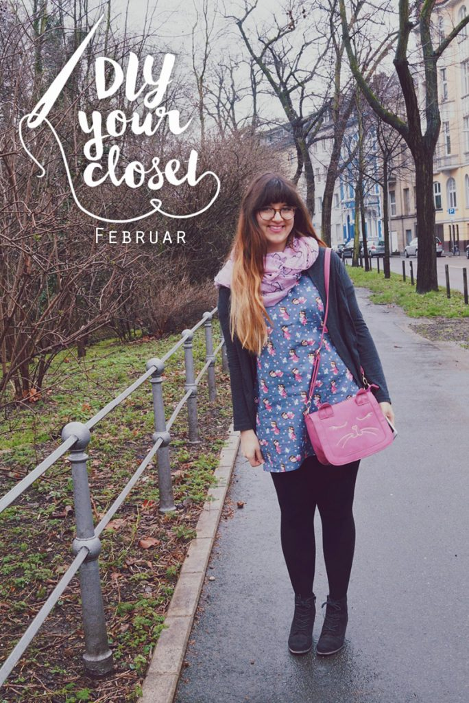 KuneCoco • DIY your closet Februar • Crazy Catlady Dress