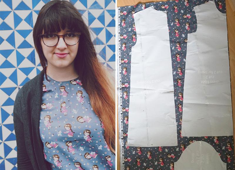 KuneCoco • DIY your closet #2 • Crazy Catlady Dress • Schnitt