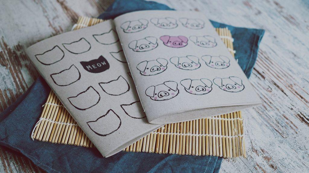 KuneCoco • DIY • Notizbücher selbermachen