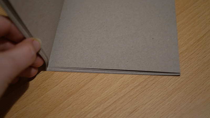 KuneCoco • DIY • Notizbücher selbermachen • falten