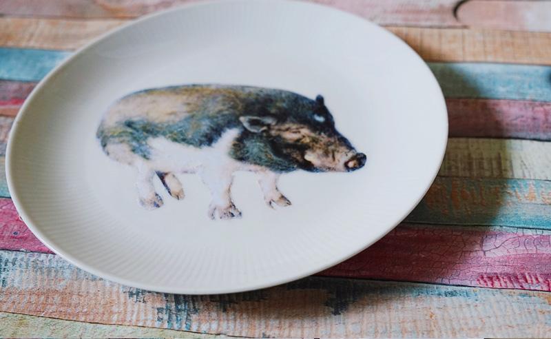 KuneCoco • Schweinischer Wandteller