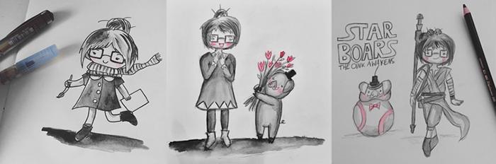 KuneCoco • Doodles