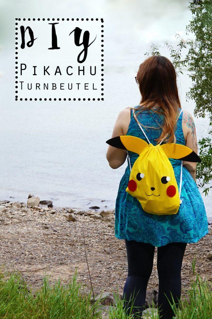 KuneCoco • DIY • #GottaBlogEmAll • Pikachu Turnbeutel-Rucksack