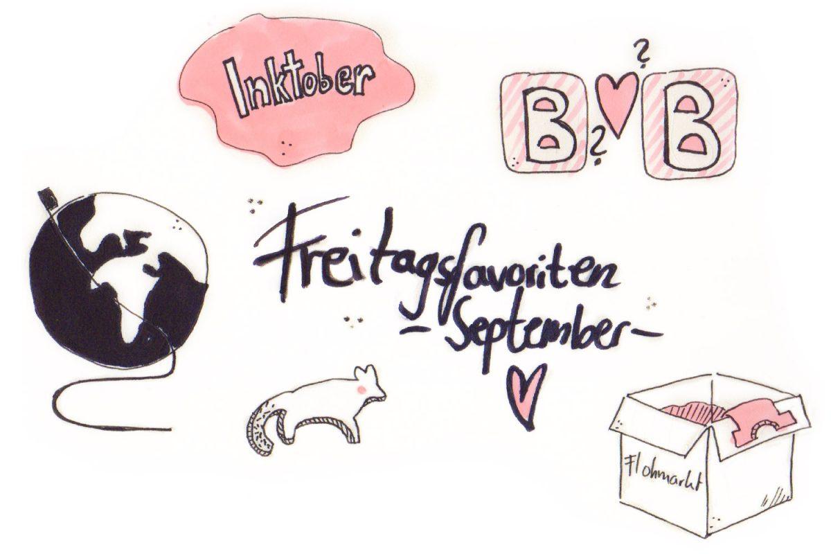 Freitagsfavoriten September 2016