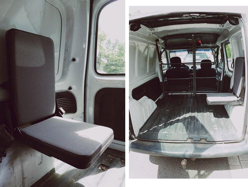 KuneCoco • #MeinErstesAuto • Renault Kangoo Klappsitz
