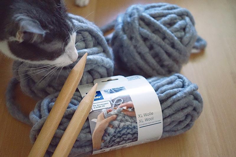 KuneCoco • Winterzeit ist Bastelzeit! • Tchibo XL-Wolle