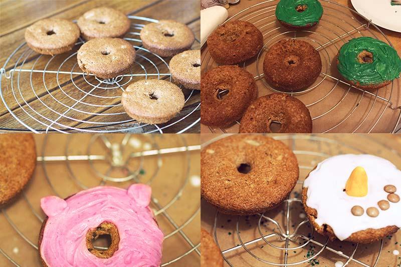 KuneCoco • Rezept für weihnachtliche Apfel-Zimt-Donuts
