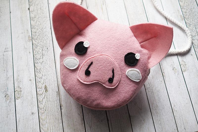 KuneCoco • DIY • Schweinetasche aus Filz
