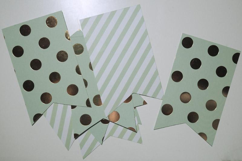 KuneCoco • DIY • Polaroid Wimpelkette • Wimpel aus Pappe