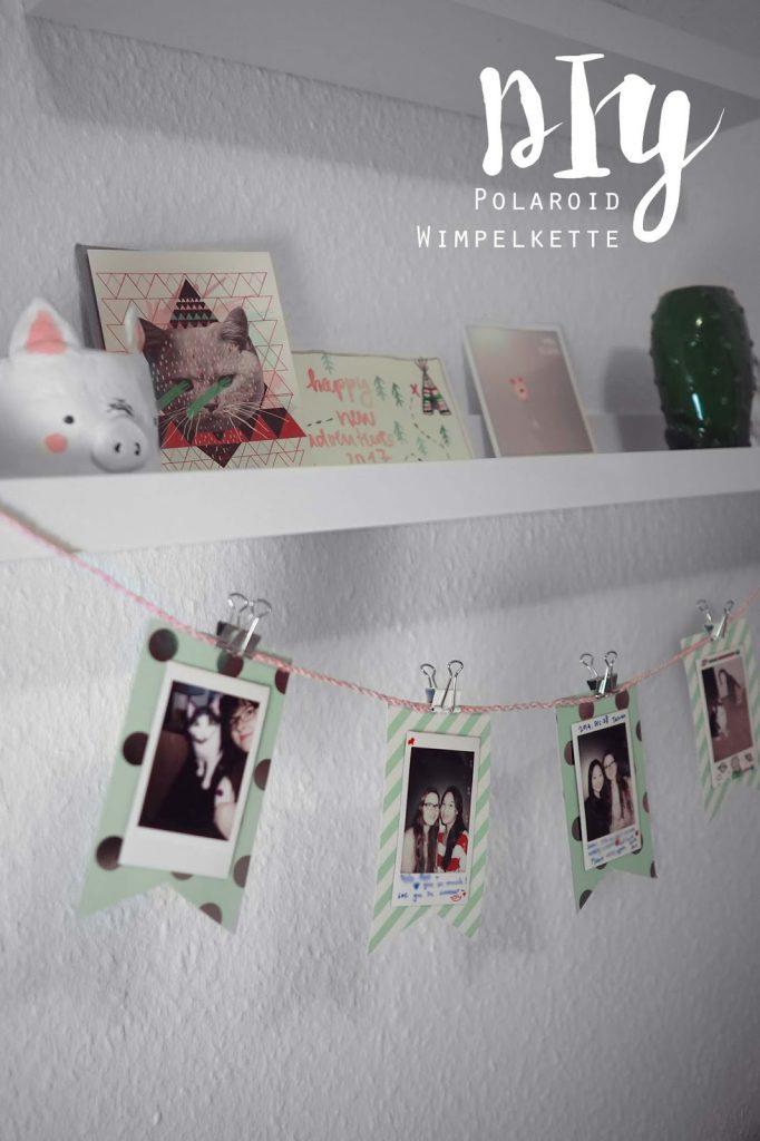 KuneCoco • DIY • Polaroid Foto-Wimpelkette