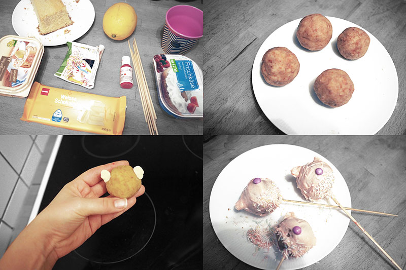 KuneCoco • Rezeptidee • Schweine-Cakepops selbst gemacht