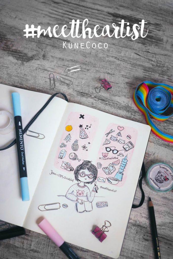 KuneCoco • #MeetTheArtist • Kleines Doodle
