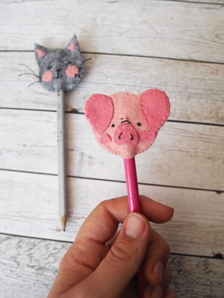 KuneCoco • DIY • Pencil Topper aus Filz