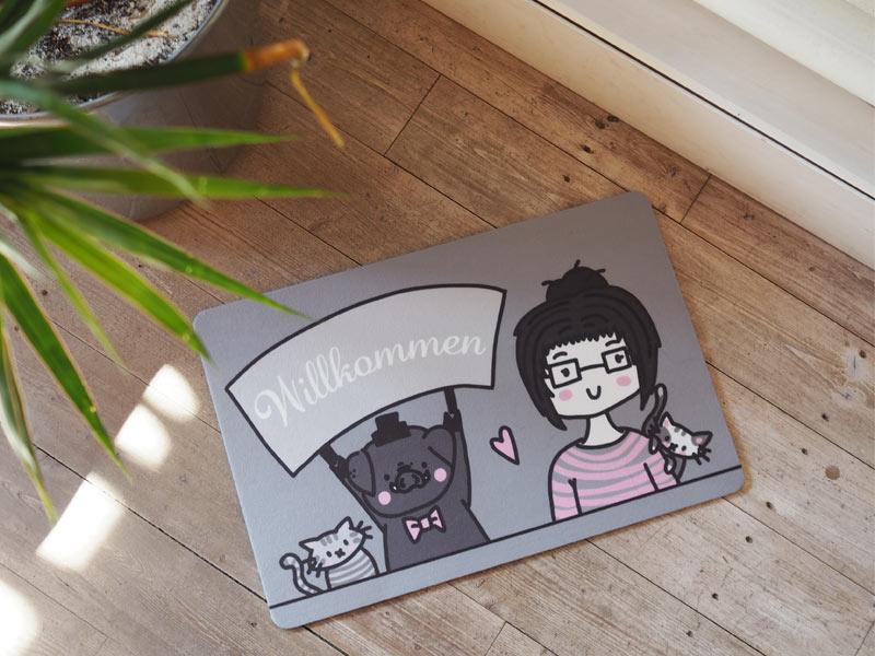 Hallo Schweinematte! + Gewinnspiel