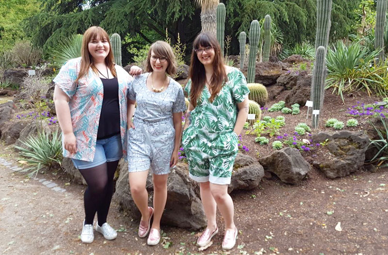 Katha, Lisa und ich
