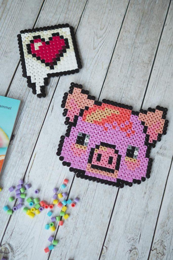 Bügelperlenschwein