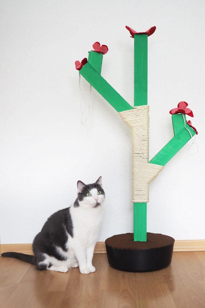 DIY Kaktus-Kratzbaum