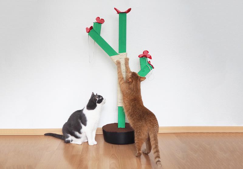 DIY // Kaktus-Kratzbaum