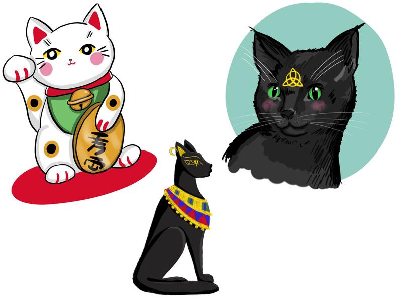 KuneCoco • Aus dem Leben einer Katzenlady #3 • Katzen Doodles