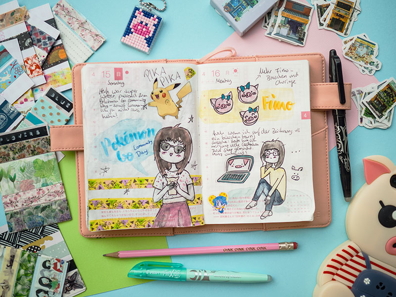 Video: Hobonichi Flipthrough April 2018
